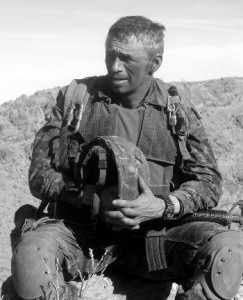 Colonel (retired) Pat Stogran Afghanistan, March 2002